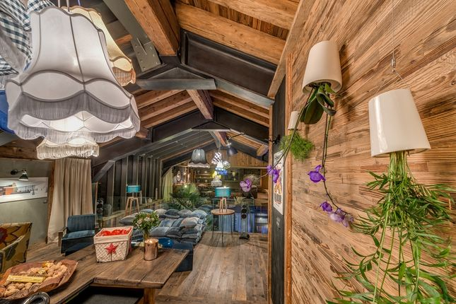 Living Area of Val-D'isere, Savoie, France