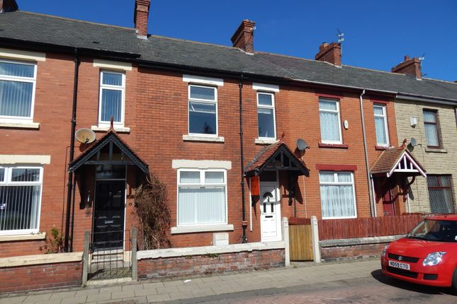 Thumbnail Terraced house to rent in Carlton Terrace, Blyth