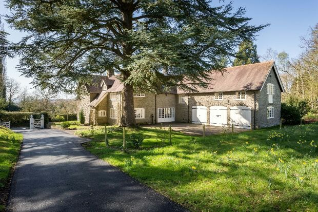Thumbnail Detached house for sale in Bosbury, Ledbury