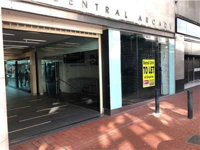 Thumbnail Retail premises to let in Unit 6, Central Arcade, Leeds, West Yorkshire
