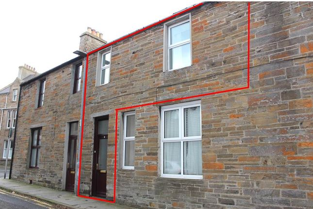Thumbnail Flat for sale in Garden Street, Kirkwall