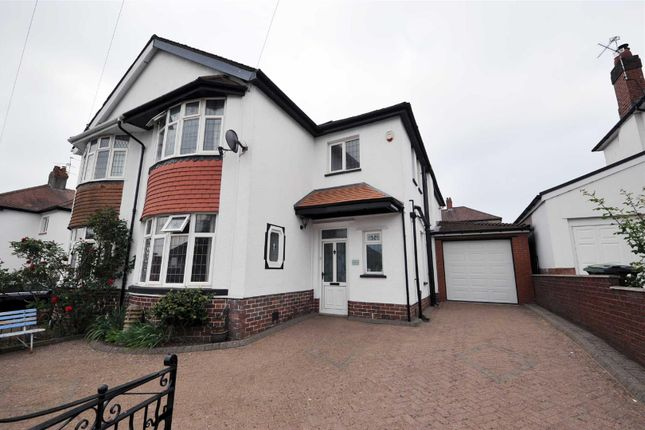 Thumbnail Semi-detached house to rent in Barons Court Road, Penylan, Cardiff