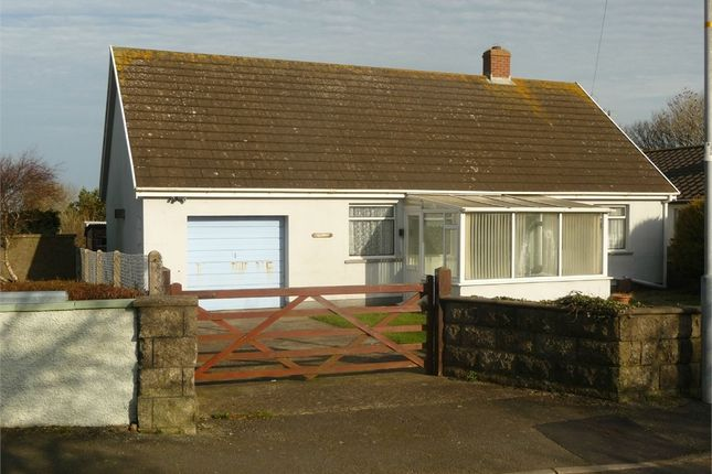 3 bed detached bungalow for sale in Gwynfryn, Abereiddy Road, Croesgoch, Haverfordwest, Pembrokeshire