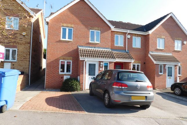 Thumbnail Town house to rent in Grizedale Rise, Forest Town, Mansfield