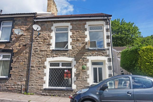 Thumbnail End terrace house for sale in Gresham Place, Treharris