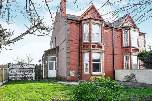 3 bed flat for sale in Rosehill Road, Rhyl, Denbighshire LL18