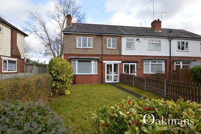 Thumbnail End terrace house to rent in Grove Road, Kings Heath, Birmingham, West Midlands.