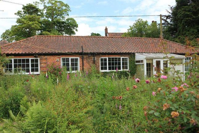 Thumbnail Bungalow for sale in Blackbird Cottage, 10 Reepham Road, Foulsham, Norfolk