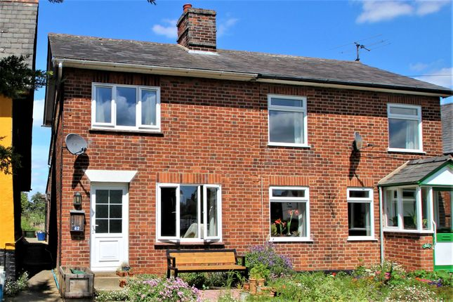 1 bed semi-detached house to rent in Bures, Sudbury, Suffolk CO8