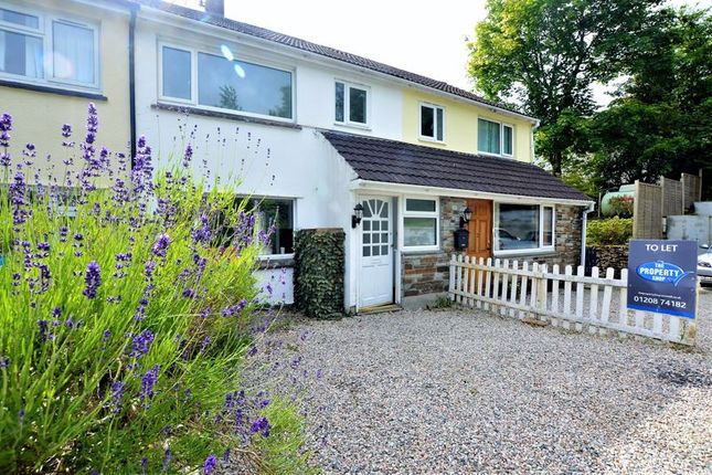 Thumbnail Terraced house to rent in Millpool, Bodmin