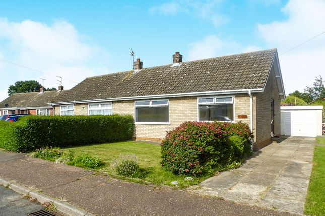 Thumbnail Semi-detached bungalow for sale in St Nicholas Way, Potter Heigham, Great Yarmouth