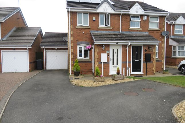 Thumbnail Semi-detached house for sale in Jenner Crescent, Kingsthorpe, Northampton