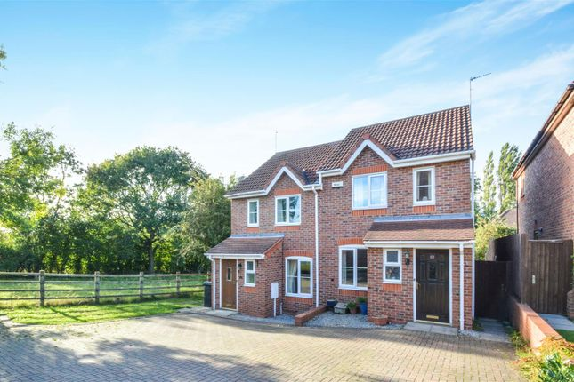 Semi-detached house to rent in Cawdell Drive, Long Whatton, Loughborough