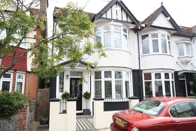 Thumbnail End terrace house for sale in Woodfield Park Drive, Leigh-On-Sea, Essex