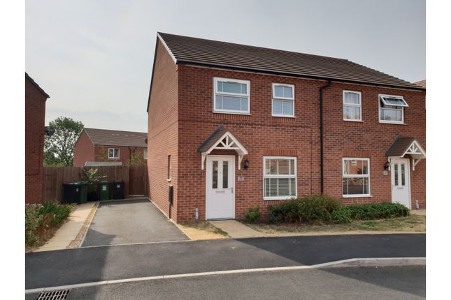 Thumbnail Semi-detached house for sale in Kemble Street, Redditch