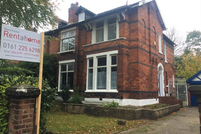 Thumbnail Semi-detached house to rent in Clifton Avenue, Fallowfield