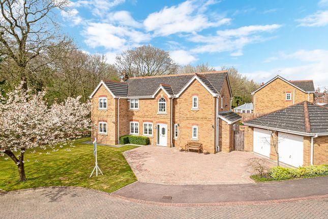 Thumbnail Detached house for sale in Redacre Close, Dutton, Warrington, Cheshire