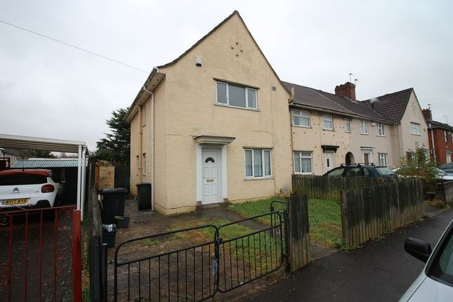 Thumbnail End terrace house to rent in Guildford Road, St Annes, Bristol