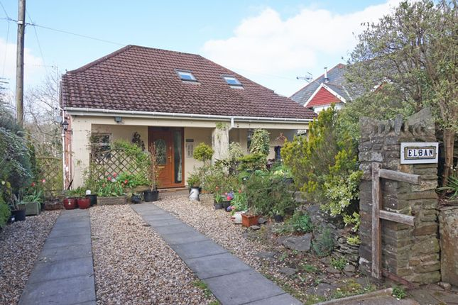 Thumbnail Bungalow for sale in Summerfield Hall Lane, Maesycwmmer, Hengoed
