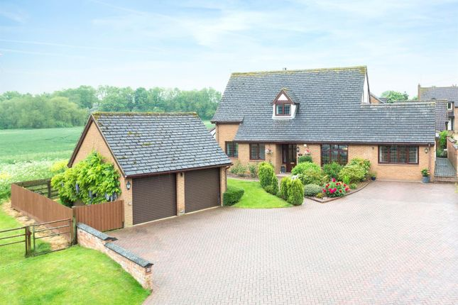 Thumbnail Detached house for sale in West End, Bugbrooke, Northampton