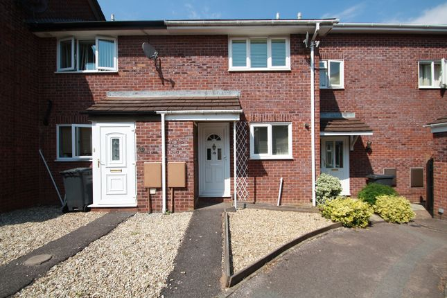 Thumbnail Terraced house to rent in Grecian Way, Exeter