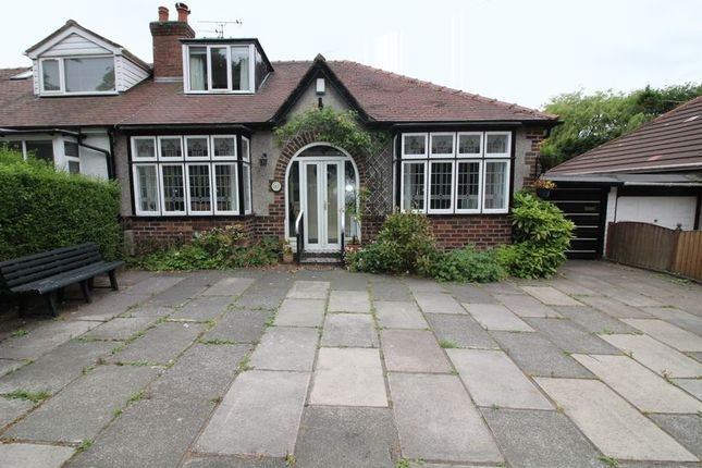 Thumbnail Semi-detached bungalow to rent in Sefton Lane, Maghull, Liverpool