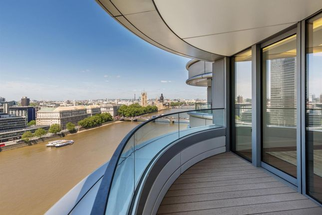 Thumbnail Flat to rent in Tower One, The Corniche, 23 Albert Embankment, London