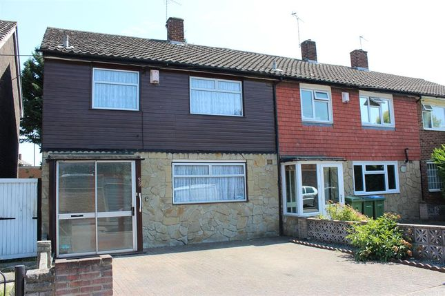 Thumbnail Terraced house for sale in Peterstone Road, Abbey Wood, London