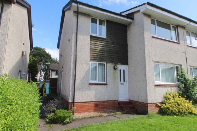 Thumbnail Flat to rent in Kirkton Crescent, Coatbridge, North Lanarkshire