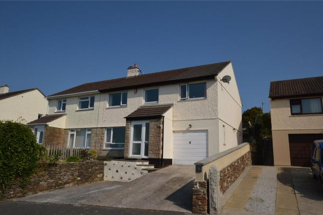 5 bed semi-detached house for sale in Gwealhellis Warren, Helston, Cornwall