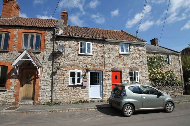 2 bed terraced house for sale in High Street, Wookey, Wells