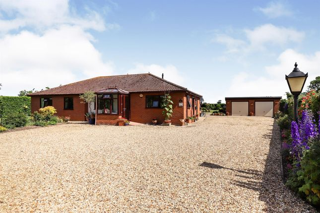 Thumbnail Detached bungalow for sale in Main Road, Quadring, Spalding