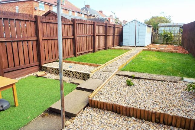 Rear Garden of Balkwell Avenue, North Shields NE29