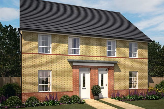 "Thumbnail End terrace house for sale in ""Finchley"" at Harbury Lane, Heathcote, Warwick"