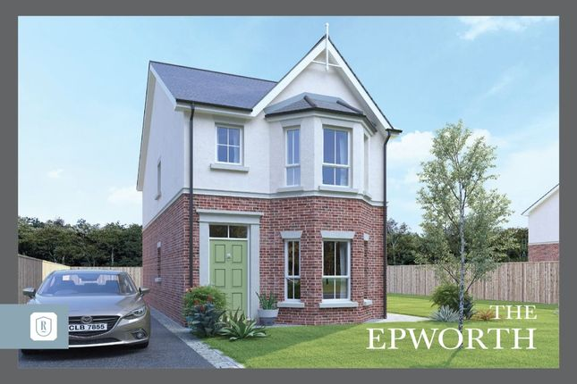 Thumbnail Detached house for sale in Rowanvale, Green Road, Bangor