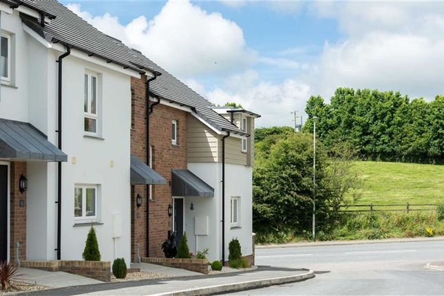 Thumbnail Terraced house for sale in Brooks Avenue, Holsworthy, Devon