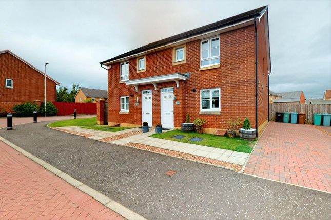 Thumbnail Semi-detached house for sale in Peacock Wynd, Motherwell