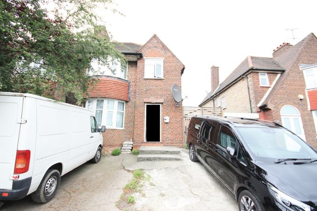 Thumbnail Semi-detached house for sale in Western Avenue, East Acton