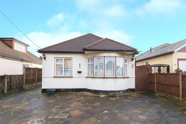 Thumbnail Detached bungalow for sale in Cranham Gardens, Upminster