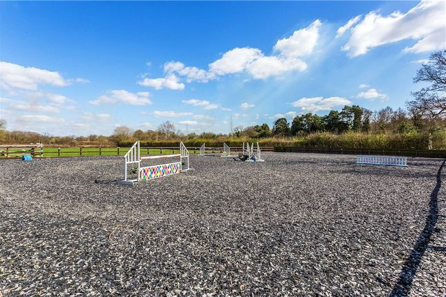Outdoor Arena of Pennypot Lane, Chobham, Surrey GU24