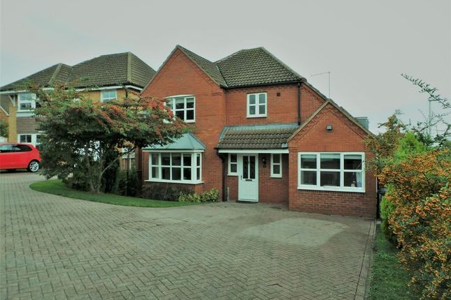 Thumbnail Detached house to rent in Devonshire Close, Rugby