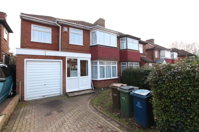 4 bed semi-detached house to rent in Crowshott Avenue, Stanmore HA7