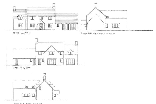 Thumbnail Land for sale in Wood Lane, Kings Cliffe, Peterborough