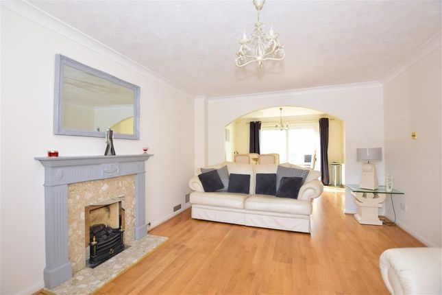 Thumbnail Detached house for sale in Laurie Gray Avenue, Bluebell Hill Village, Chatham, Kent