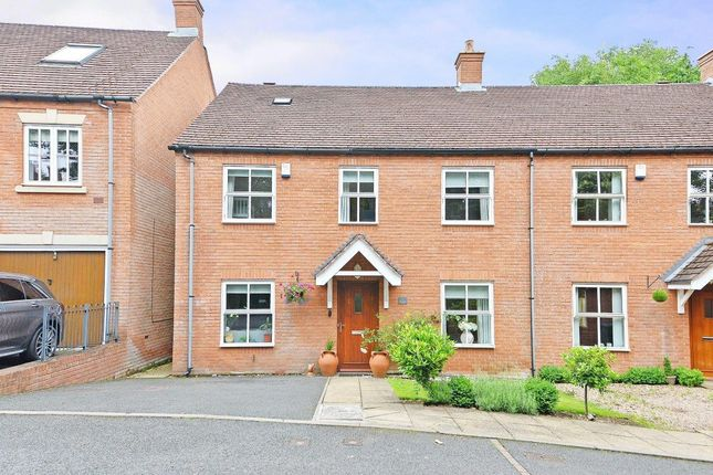 Thumbnail Semi-detached house for sale in The Mansions Mews, Four Oaks, Sutton Coldfield