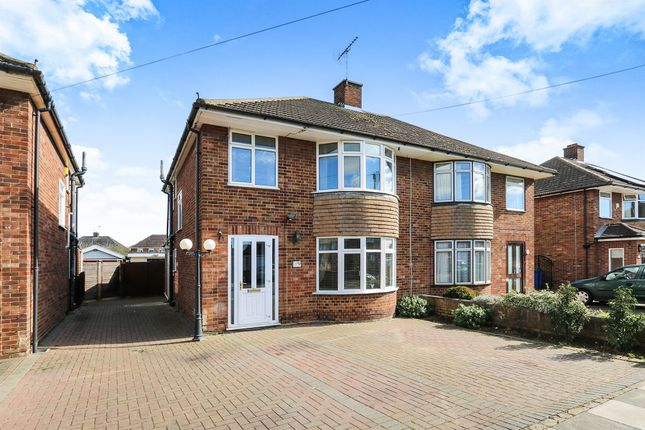 Thumbnail Semi-detached house for sale in Charlton Avenue, Ipswich