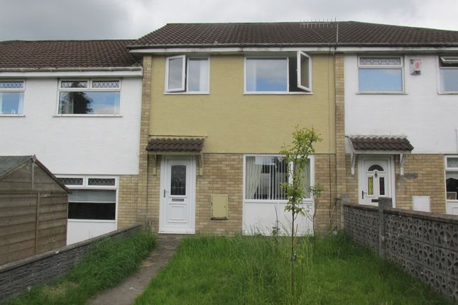 Thumbnail Terraced house for sale in Kidwelly Grove, Castle Park, Merthyr Tydfil