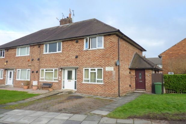 Thumbnail Flat to rent in Lowfields Avenue, Wirral