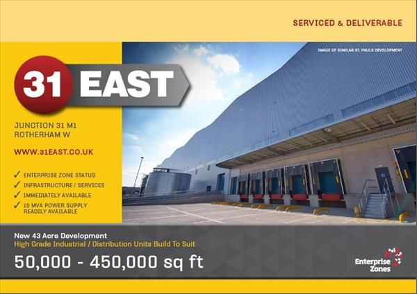 Thumbnail Light industrial to let in 31 East, Todwick Road, Rotherham