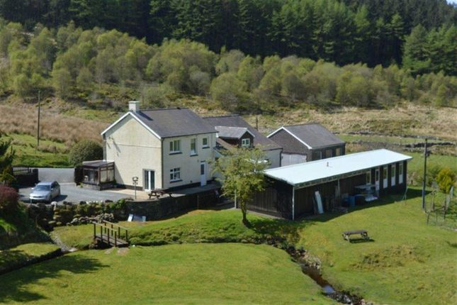 Thumbnail Detached house for sale in Diffwys, Tregaron, Ceredigion